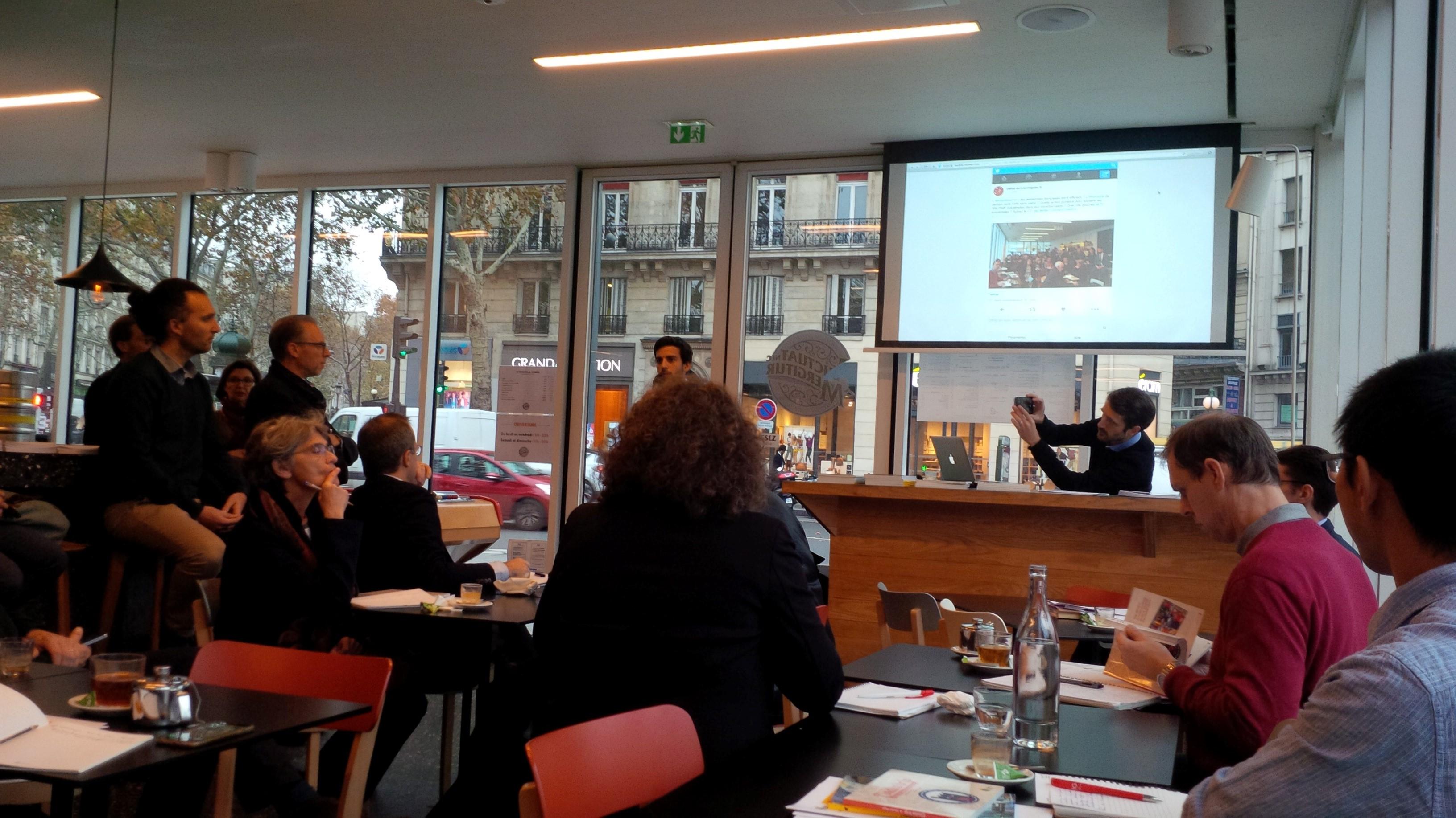 Le Café économique de Bercy de Novembre 2018 : Investissement, innovation, internationalisation ; les 3 «i» de l'industrie du futur.